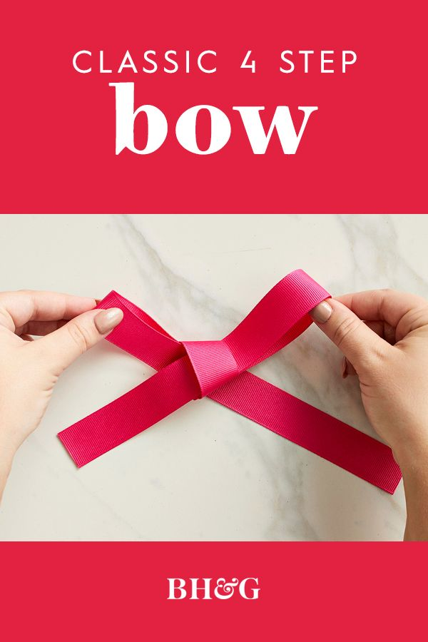 A handmade bow is the perfect topper for gifts and wreaths and puts the finishin...