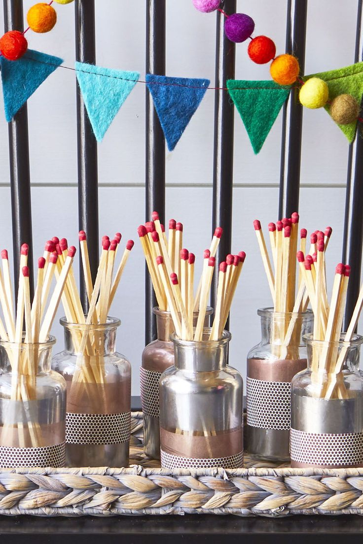 Give your boring box of matches a major style upgrade with these chic match stri...