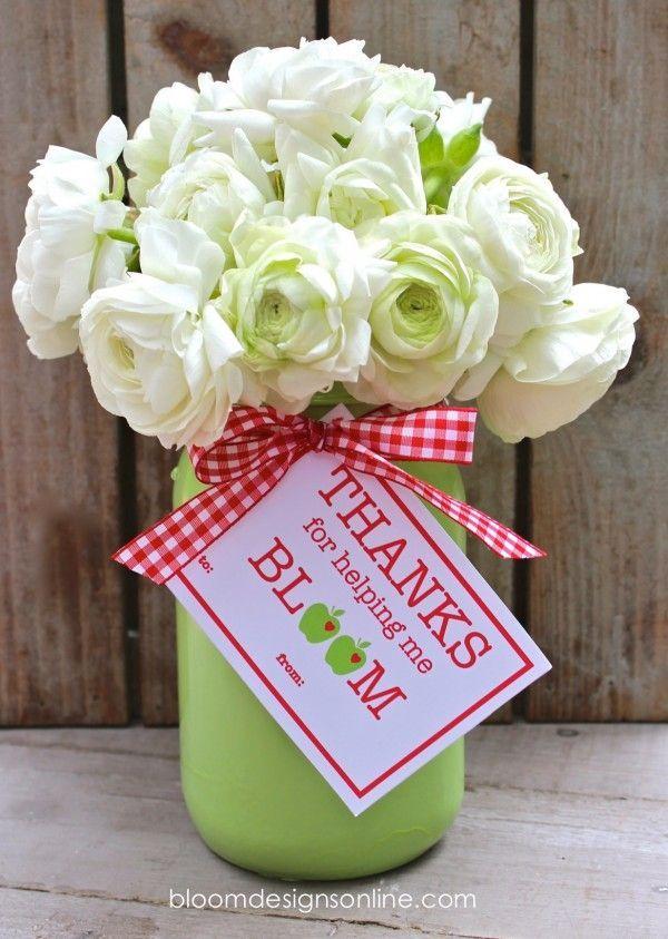 Teacher Appreciation Blooms by Bloom Designs online   Skip To My Lou #teacher #a...