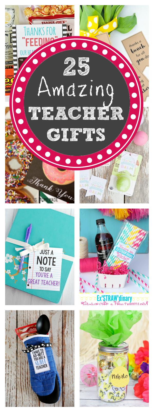 25 Fun Teacher Appreciation Gifts