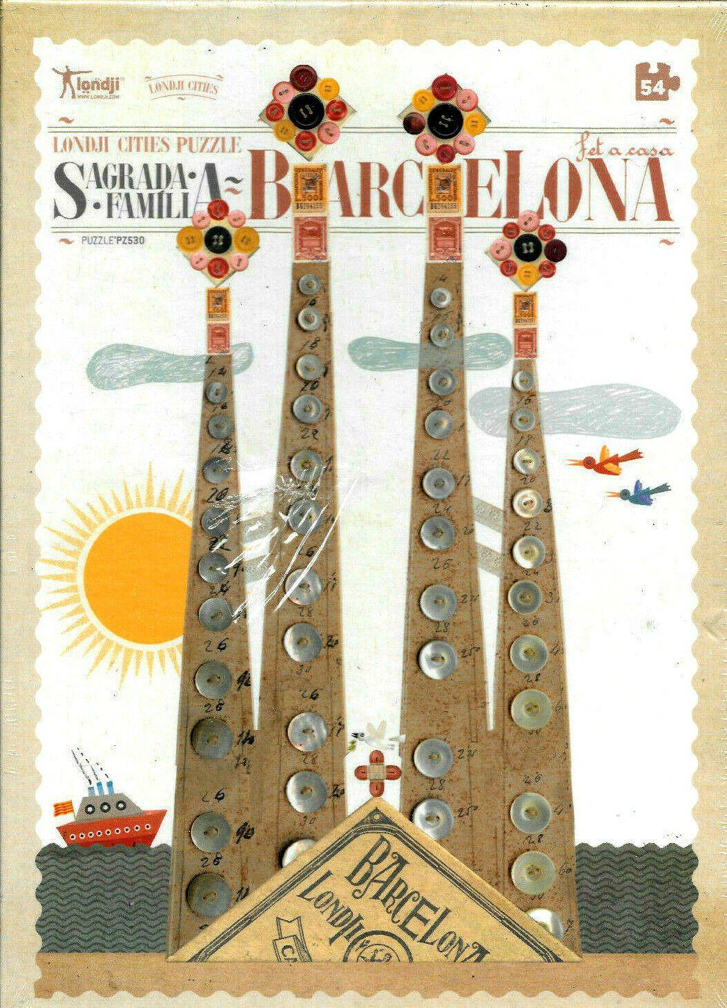 Barcelona Spain Sagrada Familia 54 Piece Jigsaw Puzzle