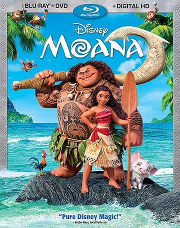 Disney's Moana Movie Review (2016)