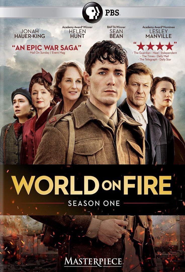 Masterpiece/PBS World on Fire Period Drama, Season One DVD