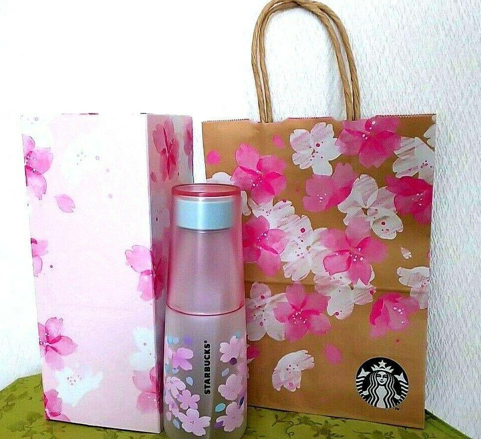 Starbucks SAKURA 2019 Clave Bottle Blossom 500ml 710mm×710mm×215 mm New with Box  | eBay