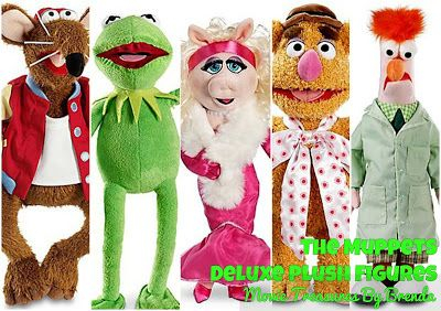 The Muppets Exclusive Deluxe Plush Toys
