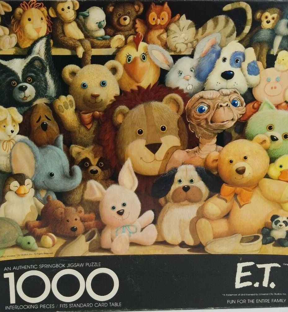 For NATIONAL PARANORMAL DAY, a vintage Springbok E.T. jigsaw Puzzle.