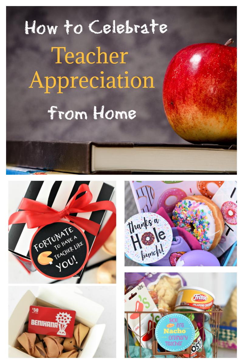 Teacher Appreciation Ideas...From Home
