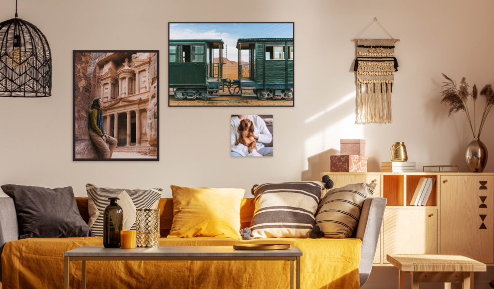 room decoration with photos