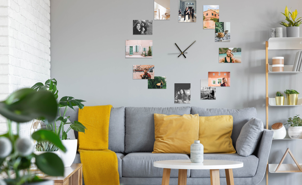 decorate room with photos