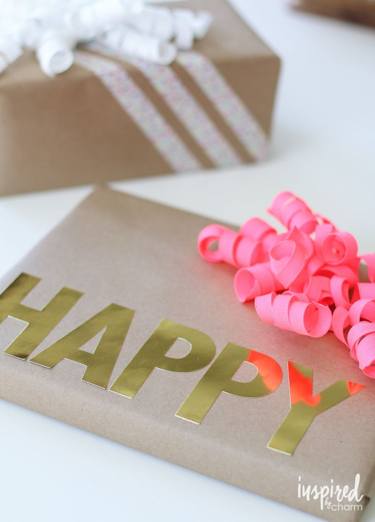 Creative Gift Wrapping Ideas / Give Mom, grads, and more a present that's as...