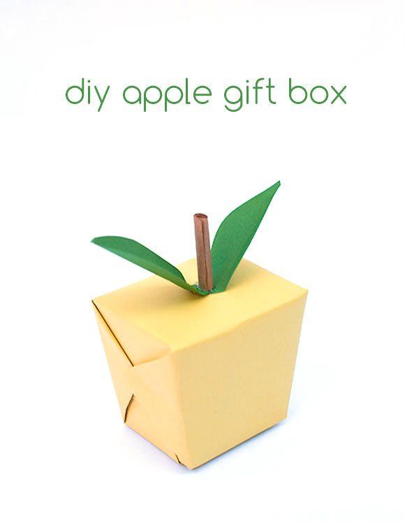 DIY Apple Gift Box