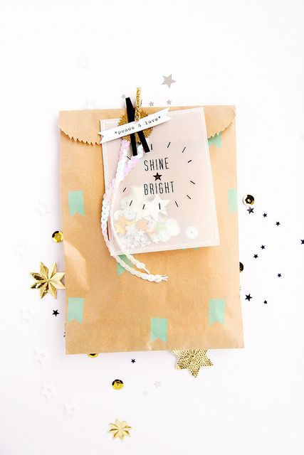 Shine Bright Packaging via Inspire Lovely Etsy by debee{art), via Flickr