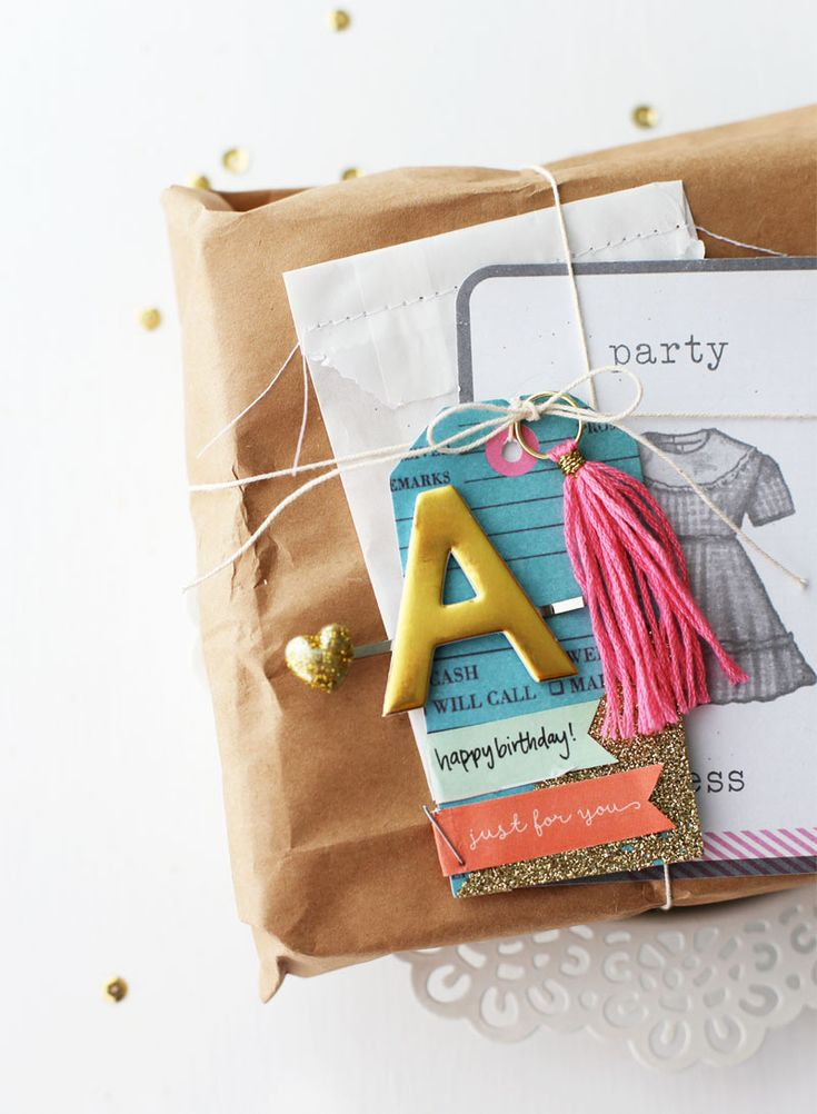 DIY Pretty Gift Wrap