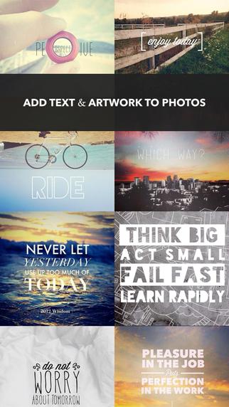 Aplicaciones para poner textos en las fotos over