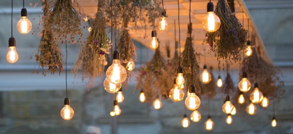 iluminacion vintage rustica