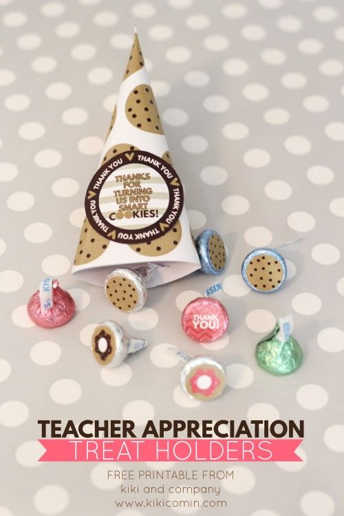 Teacher Appreciation Treat Holders from kiki and company. Can't wait to use thes...