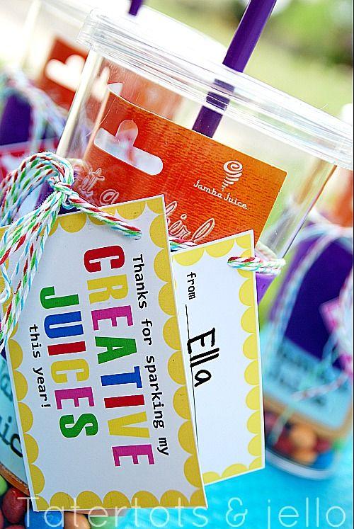 Back to school teacher gift idea #print #backtoschool