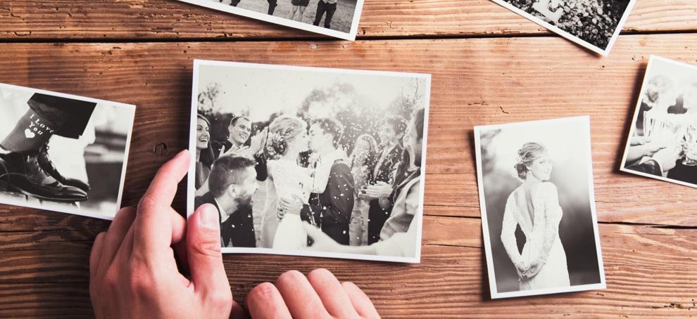 scrapbook album de bodas