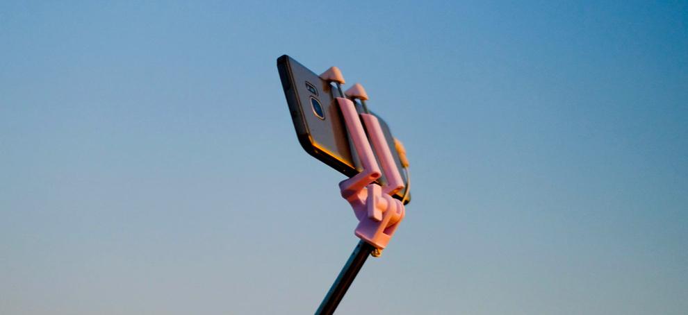 selfie para hacer fotos con el movil