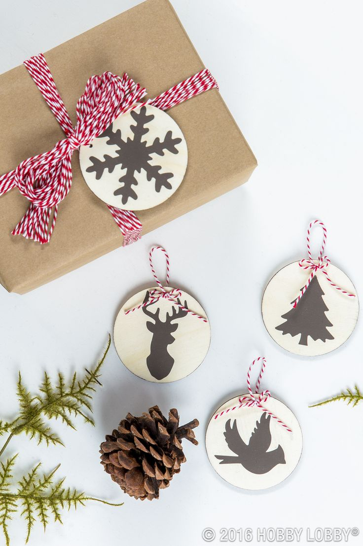 Dazzle your friends and family with DIY gift tags! Just grab paper, string and p...