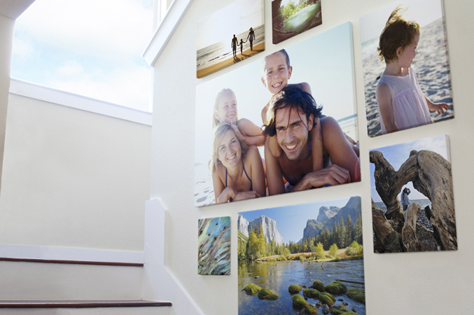 decorate house with photos