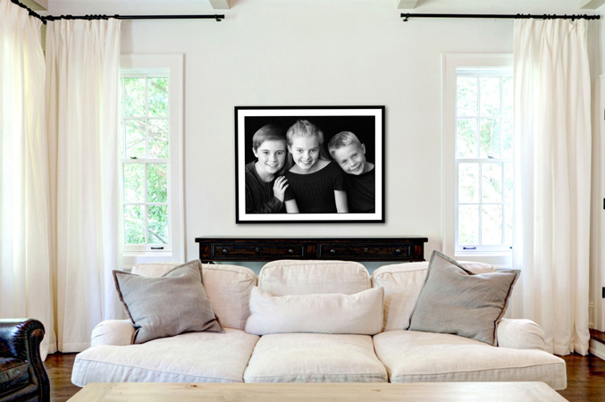how to decorate your house with photos