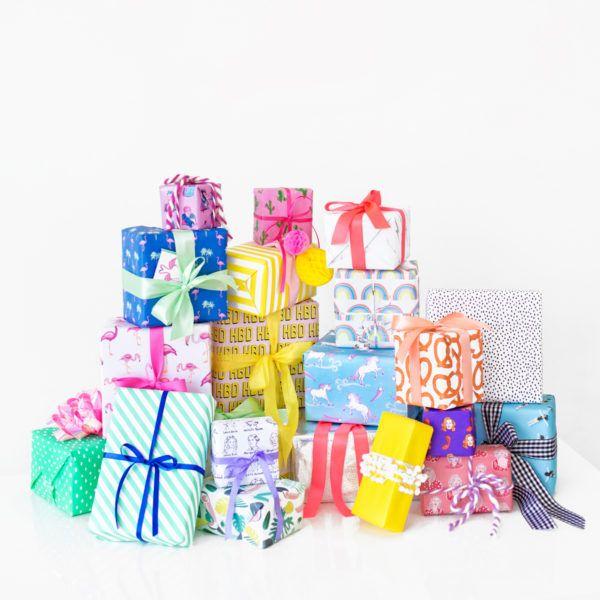 Six Awesome Birthday Gift Wrap Pairings   studiodiy.com