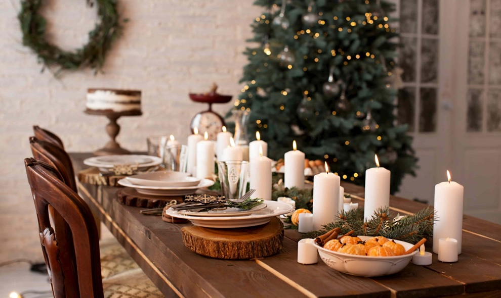 christmas tables decoration