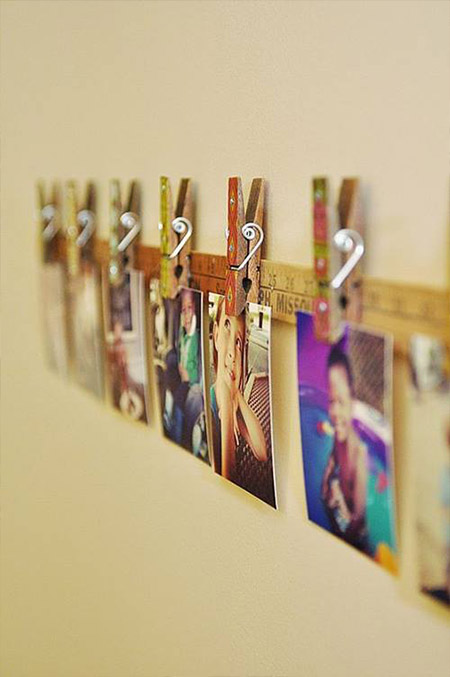 decorate low cost house with photos